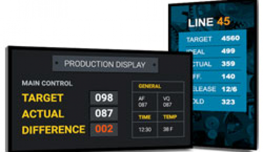 Digital Production Display Boards