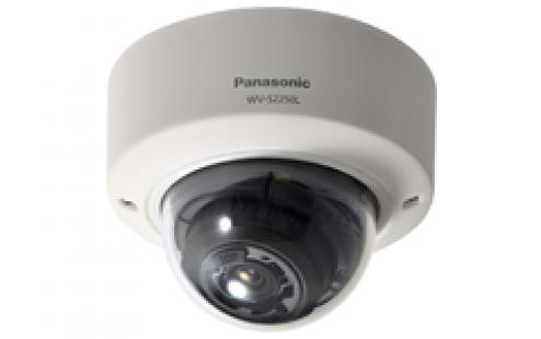 Vandal Resistant Dome Network Camera – WV-S2550L