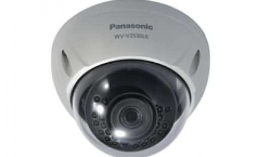 Panasonic Weatherproof Dome Camera – WV-V2530LK